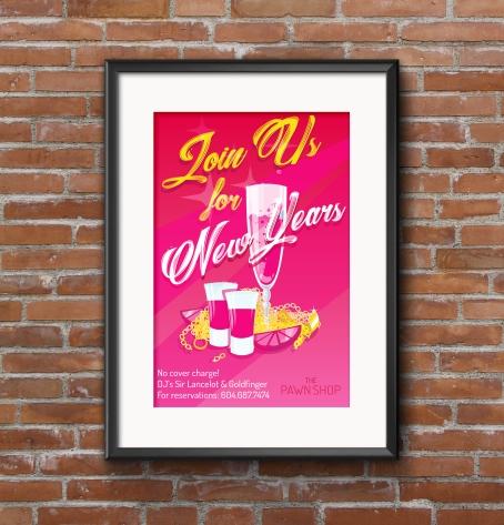 Poster Frame PSD MockUp 2