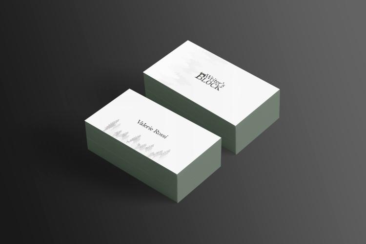 Business Card Mockup 11 (Free Version)